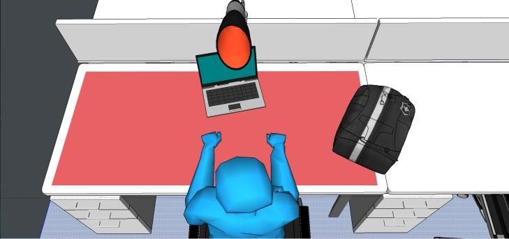 whole desk fin